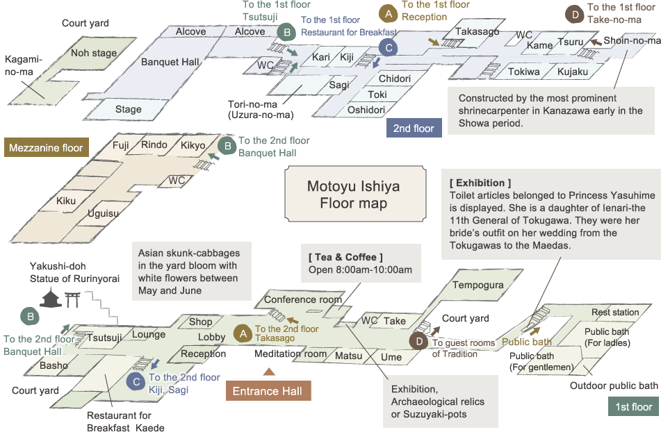 Motoyu Ishiya Floor map