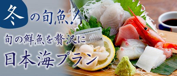 日本海お造りプラン