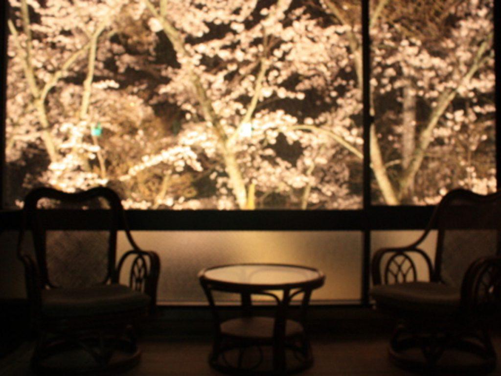 夜桜_お風呂場